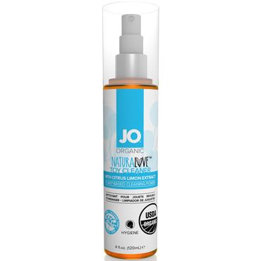 JO Naturalove USDA Organic Toy Cleaner, 120 мл Натуральное средство для очистки игрушек waname toy cleaner 150 мл очищающий спрей для игрушек