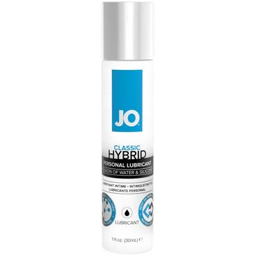 JO Classic Hybrid, 30 мл Лубрикант на водно-силиконовой основе анальный согревающий лубрикант обезболивающий на силиконовой основе jo anal premium warming 60 мл