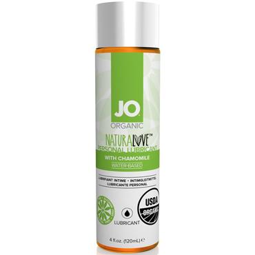 JO Naturalove USDA Organic, 120 мл Органический лубрикант на водной основе, с экстрактом ромашки лубрикант на водной основе swiss navy all natural гипоаллергенный 118 мл