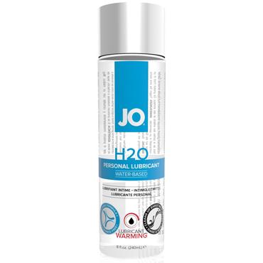 JO H2O Warming, 240 мл Лубрикант на водной основе с согревающим эффектом durex гель смазка интимная play heat с согревающим эффектом 50мл