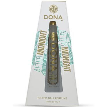 DONA Roll-On Perfume After Midnight, 10 мл Парфюмерная вода Полуночный соблазн парфюм dona с феромонами полуночный соблазн after midnight 60 мл