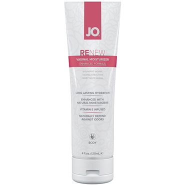JO Renew Vaginal Moisturizer, 120 мл Вагинальный увлажняющий крем la prairie cellular time release moisturizer интенсивно увлажняющий крем cellular time release moisturizer интенсивно увлажняющий крем