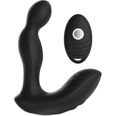 Y.Love Wenker, черный Вибромассажер простаты с пультом управления lelo tara фиолетовый первый в мире вибромассажер для пар с ротацией