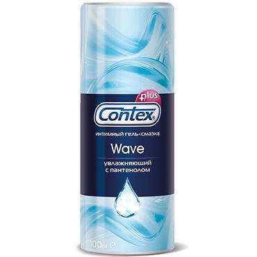 Contex Wave, 100 мл Увлажняющий лубрикант с пантенолом contex green 100 мл лубрикант с антибактериальным эффектом
