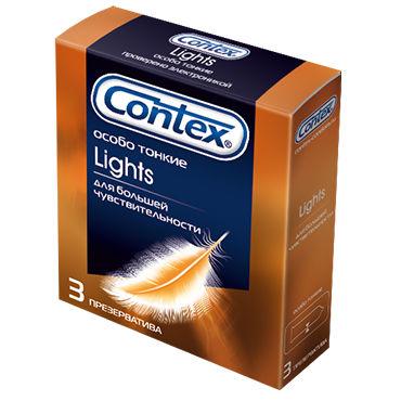 Contex Lights Презервативы ультратонкие diogol jaz nh t2 серебристая анальная пробка с вибрацией