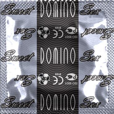Domino Пломбир Презервативы со вкусом пломбира mio презервативы g точка 12шт 3 шт секс игрушки для взрослых