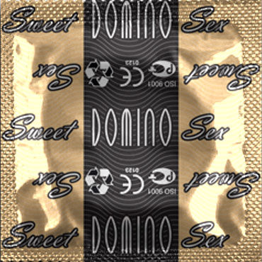 Domino Тирамису Презервативы со вкусом тирамису doc johnson platinum the blast эргономичная анальная пробка