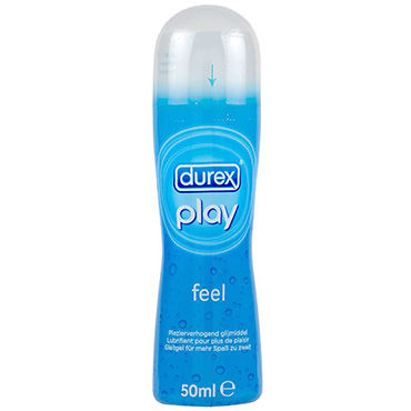 Durex Play Feel, 50 мл Лубрикант, усиливающий ощущения system jo premium jelly light 120 мл концентрированный лубрикант на силиконовой основе легкая текстура