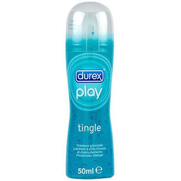 Durex Play Tingle, 50 мл Лубрикант с охлаждающим эффектом shiatsu гель для ванны и душа с ароматом дикой орхидеи 400 мл