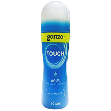 Ganzo Touch Aqua, 50 мл Нейтральный лубрикант на водной основе system jo premium jelly light 120 мл концентрированный лубрикант на силиконовой основе легкая текстура