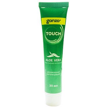 Ganzo Touch Aloe Vera, 30 мл Увлажняющий и регенерирующий лубрикант с алое вера презервативы ganzo extase 3 c точечной и ребристой поверхностью