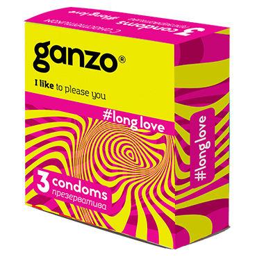 Ganzo Long Love Презервативы продлевающие sico презервативы xxl увеличенные 3шт