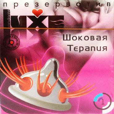 Luxe Шоковая терапия Презервативы с усиками luxe maxima аризонский бульдог презервативы с усиками и шариками