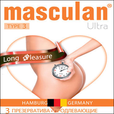 Masculan Ultra Long Pleasure Презервативы продлевающие fetish fantasy chastity belt