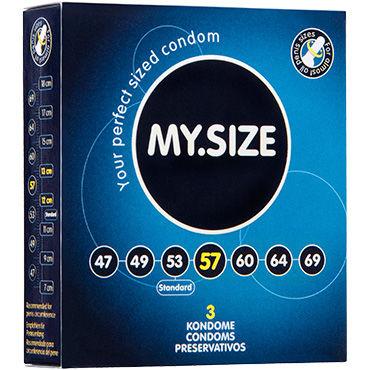 My.Size 57*178 Презервативы увеличенного размера luxe седьмое небо презервативы с усиками