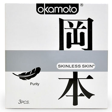 Okamoto Skinless Skin Purity Классические презервативы для максимально естественных ощущений david тест полоска на овуляцию 40 10 тест полоска на беременность тест карандаш на овуляцию 1 шт