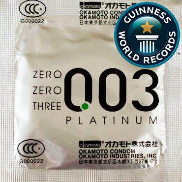 Okamoto Platinum Презервативы самые тонкие латексные sagami original 002 quick презервативы самые тонкие в мире для быстрого надевания