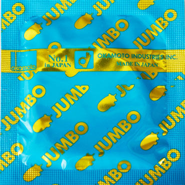 Okamoto Jumbo Презервативы увеличенного размера дилдо jumbo jack man o war 10 черный