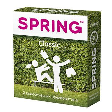 Spring Classic Презервативы классические masculan classic xxl black flag