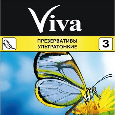 Viva Ультратонкие Презервативы ультратонкие презервативы дюрекс инвизибл ультратонкие n3
