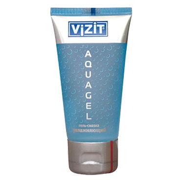 Vizit Aqua, 50 мл Прозрачный увлажняющий лубрикант zado кандалы для ног кожаные