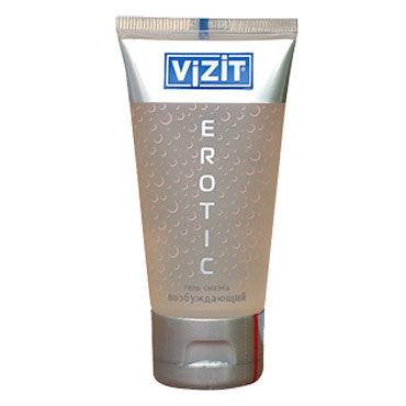 Vizit Erotic, 60 мл Лубрикант с возбуждающим эффектом system jo premium jelly light 120 мл концентрированный лубрикант на силиконовой основе легкая текстура