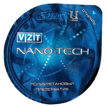Vizit Nano-Tech Презервативы супертонкие полиуретановые презервативы sagami xtreme ultrasafe 10шт латексные с двойным количеством смазки