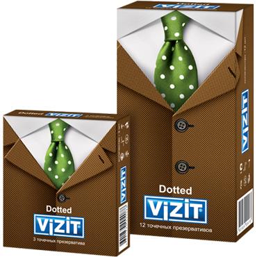 Vizit Dotted Презервативы с пупырышками vizit dotted презервативы с пупырышками