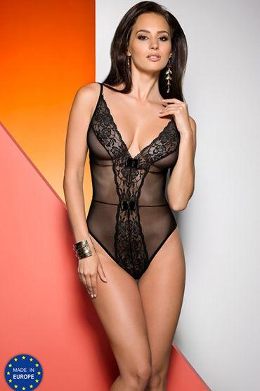 Avanua Jovita Body Black С кружевным орнаментом эротическое боди женское avanua jovita цвет черный 03576 размер s m 42 44