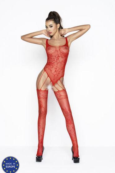 Passion Нимфа, красный Кэтсьют открытый california exotic entice ball gag классический кляп с плюшевой подкладкой