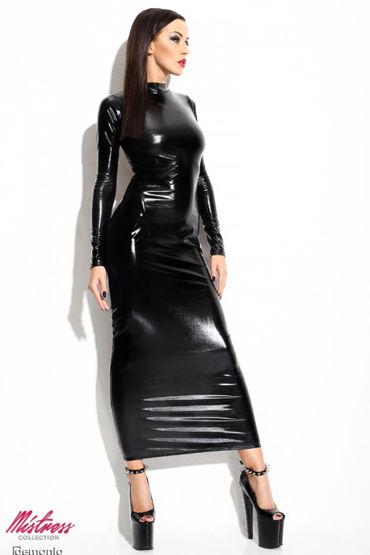 Demoniq Dorothea, черное Платье и трусики анальная цепочка flexible wand серая