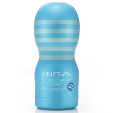 Tenga Deep Throat Cool Edition Мастурбатор с охлаждающим эффектом, имитирующий оральный секс podium поножи