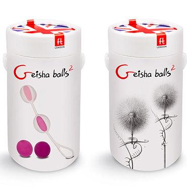 Gvibe Geisha Balls 2 Набор из 4 шариков разного веса для тренировки вагинальных мышц ц anasteisha k balls single