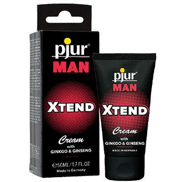 Pjur Man Xtend Cream, 50 мл Крем для мужчин, улучшающий кровообращение pjur power 150 мл расслабляющий анальный крем