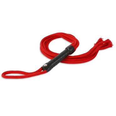 Пикантные штучки Шестихвостая плеть С жесткой рукояткой sitabella плеть черно белая с жесткой рукояткой 65 см