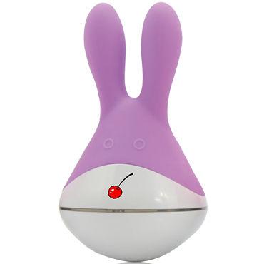 Пикантные штучки Зая, фиолетовый Клиторальный вибратор 10 скорости вибрирующие беспроводную клавиатуру отопление вибратор пуля люблю яйца секс игрушек 360465