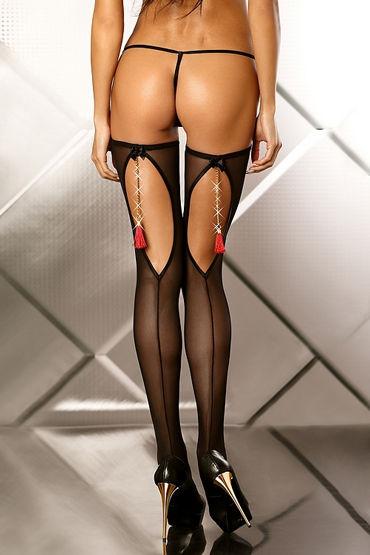 Lolitta Boudoir Stockings, черные Чулочки с кисточками lolitta boudoir stockings черные чулочки с кисточками