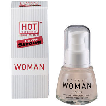 Hot Woman Pheromongel, 30 мл Концентрат феромонов для женщин desire концентрат феромонов 10 мл для привлечения мужчин