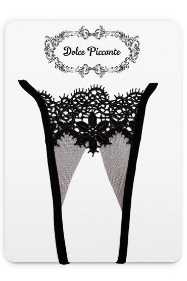 Dolce Piccante Аlbori Открытые трусики Из французского кружева Экрю dolce piccante аlbori маска диадема из французского кружева