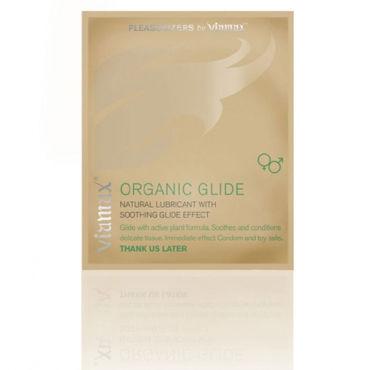 Viamax Organic Glide, 2 мл Натуральный лубрикант passion sandra красный комплект из бюстгалтера пояса и трусиков
