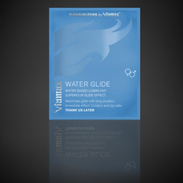 Viamax Water Glide, 3 мл Увлажняющая смазка фаллоимитатор гигант на присоске кибер кожа 27см телесный