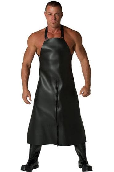 Mister B Neoprene Apron, черный Фартук на молнии pipedream fantasy x tensions extreme enhancer with anal plug насадка на пенис с анальной пробкой