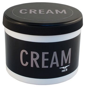 Mister B Cream, 500 мл Крем для массажа страпоны с креплениями цвет фиолетовый