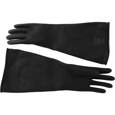 Mister B Thick Industrial Rubber Gloves 9, черные Резиновые перчатки tactical half finger gloves with protective rubber pad pair size l