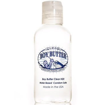 Mister B Boy Butter Clear H2O, 118 мл Лубрикант на водной основе
