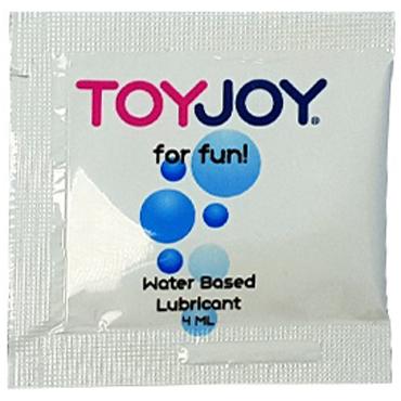 Toy Joy Waterbased Lubricant, 4 мл Лубрикант на водной основе вкусовой лубрикант sex tarts® lube 6 мл арбуз