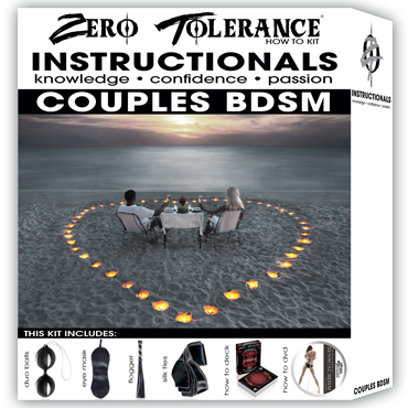 Zero Tolerance Couples BDSM Набор для БДСМ игр zero tolerance couples bdsm набор для бдсм игр