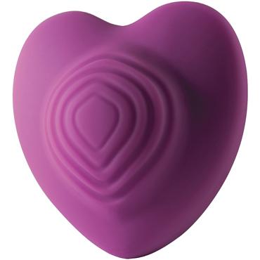 Rocks-Off Heart Throp, фиолетовый Вибромассажер в форме сердца rocks off ro 80mm gold золотая вибропуля в стильном дизайне