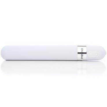 OhMiBod 3.OH Music Vibrator, белый Музыкальный вибратор bioclon real standard 5 7 телесный вибромассажёр с внешним пультом управления