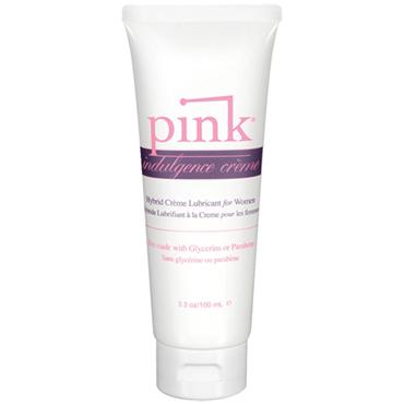 Pink Indulgence Creme, 100 мл Гибридный крем-лубрикант для женщин joydrops enhancement 5 мл возбуждающая смазка для женщин саше
